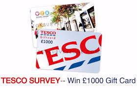 1000 gift card tesco survey customer satisfaction survey feedback 500 gift