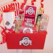 ohio gift baskets new price gift basket of osu ohio state misc by andersongirl57