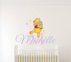 news archives wall decals wall stickers wall quotes personalised name winnie the pooh wall decal
