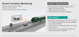 moxa rtus tailored for railway preventive maintenance