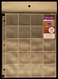 archival photo pages coin album pages 20 pocket 2 2 size pack of 10 the purple