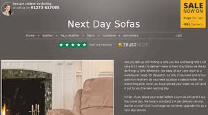 Sofas Next Day Delivery Sofas Quick Delivery Uk Centerfordemocracy Org