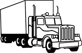 semi truck coloring page wecoloringpage