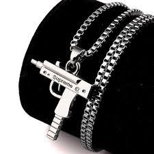 aliexpress buy anniversary 18k white gold filled 4 aliexpress buy men hip hop pendant charm franco chain white