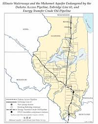 Illinois Map With Counties by Illinois U0027 Pipeline Construction Proceeds With Reservations But No