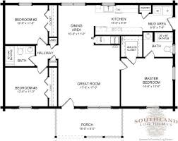 log cabin floorplans single level log home plans homes floor plans