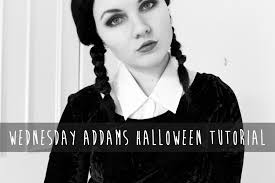 Halloween Costumes Addams Family Wednesday Addams Halloween Costume Tutorial Youtube