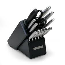 kitchen wusthof classic knife block set with high carbon