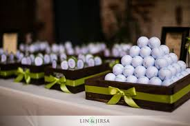 wedding party favor ideas golf themed wedding favors