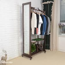 multifunction wood floor mirror full length mirror dressing mirror