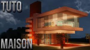 Maison Ancienne Et Moderne by Tuto Belle Maison Moderne Minecraft Youtube