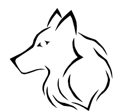 easy wolf head tribal tattoo designs pictures to pin on pinterest