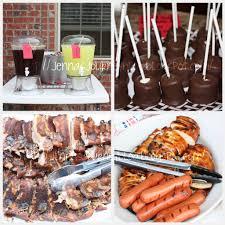 jenna blogs backyard bbq party