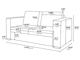 typical sofa length standard couch dimensions thesofa
