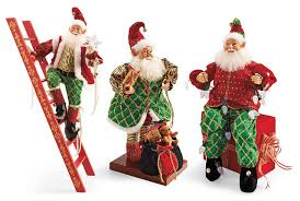 Animated Pictures Of Christmas Decorations by Set Of Three Animated Elves Frontgate Christmas Decorations