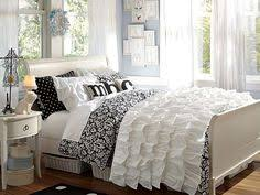Black And White Bed Black And White Bedroom Ideas For Teens Teen Posts Teen And