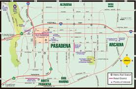 Pasadena Zip Code Map by Caltech Particle Theory Visitor Information Dialaride City Of