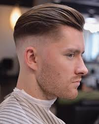 side part pompadour hairstyle fine hair haircut hair and beard