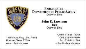 Nypd Business Cards Cobra Printing Business Cards Business Cards Police Cobra Printing