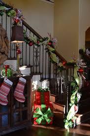 Christmas Railing Decorations Pinterest Home Decor Christmas Easy Table Decorations For