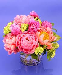 Peony Arrangement Peony Flower Delivery To Danvers U0026 Beverly Massachusetts