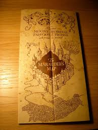 Harry Potter Marauders Map The Marauder U0027s Map From