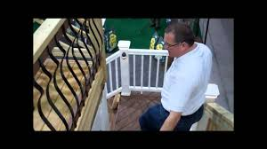 Types Of Banisters Types Of Deck Railing Available Youtube