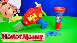 handy manny disney handy manny tool flashlight toys video