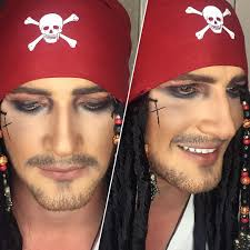 pirate halloween makeup ideas pirate halloween makeup popsugar beauty