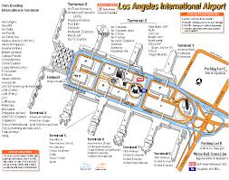 lax gate map map of lax my