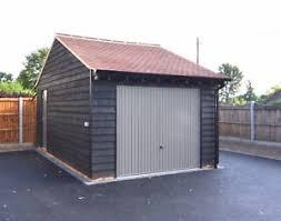timber garage ebay