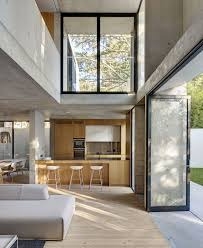 Kitchen Room Interior Design Two Storey Concrete And Timber Frame House Kitchen Concrete