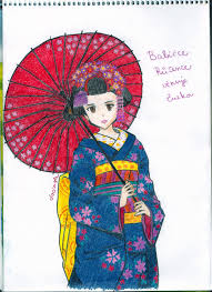 japanese woman in kimono by jacindazs on deviantart