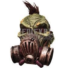 Zombie Mask Big Biohazard Zombie Mask Rc 68276 By Zombies Playground