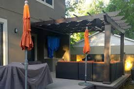 pergolas and pergola kits with retractable canopy