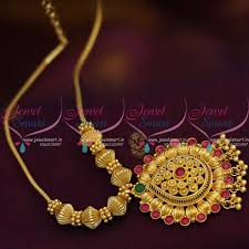short necklace with pendant images Nl8644 traditional gold design fancy pendant beads roll kodi short JPG