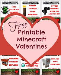 minecraft valentines printable minecraft valentines skrafty