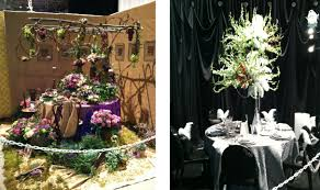 themed tablescapes a non gardener s guide to the chicago flower garden show