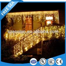 snowing icicle outdoor lights christmas xmas bright led snowing icicle lights indoor outdoor house