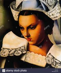 tamara de lempicka la bretonne stock photo royalty free image