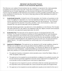 personal loan agreement template 9 free word pdf