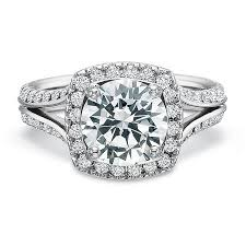 semi mount engagement rings precision set new aire platinum semi mount engagement ring