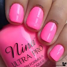 upc 096500095080 nina ultra pro nail polish varnish hi vis neon