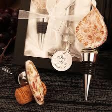 tã rstopper design arte murano corkscrew teardrop design bottle stopper favor set
