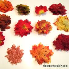 fall garland make your own diy fall garland for 5 and in 30min or less