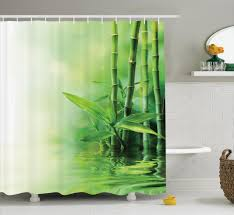 asian bamboo reflection on water japanese decorative zen spa asian bamboo reflection on water japanese decorative zen spa shower curtain set