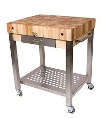 amazon com cucina americana technica kitchen cart with butcher