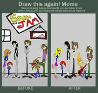 Draw It Again Meme Template - draw this again know your meme