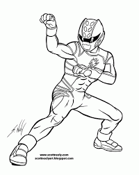 power ranger jungle fury coloring pages kids sketch coloring