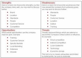 40 free swot analysis templates in word demplatescompany